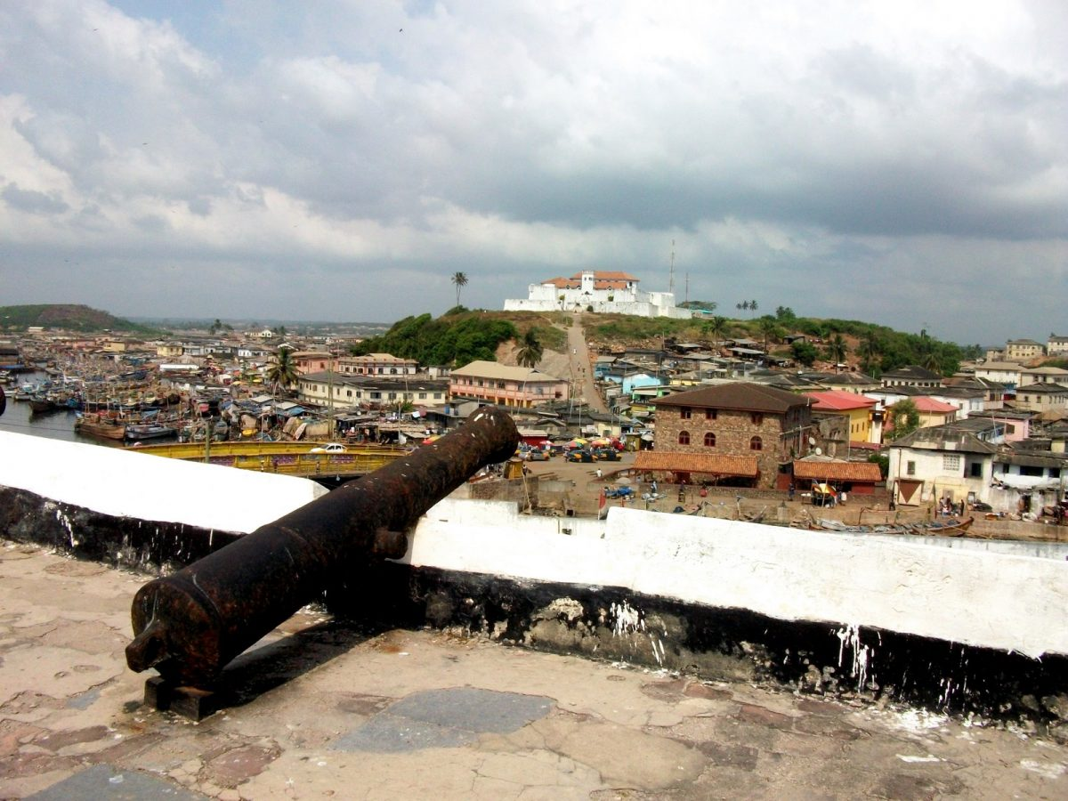 Fort St Jago from Elmina Castle