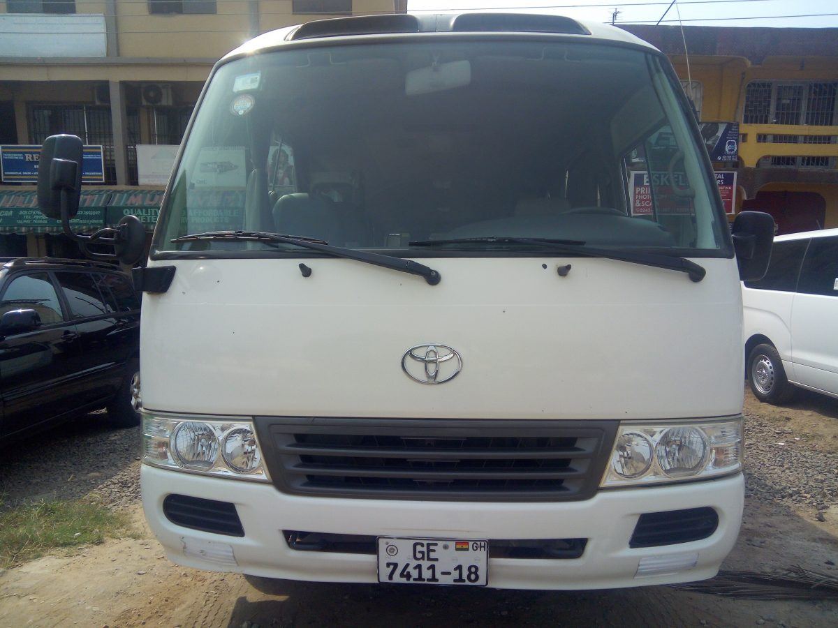Toyota-Coaster Bus
